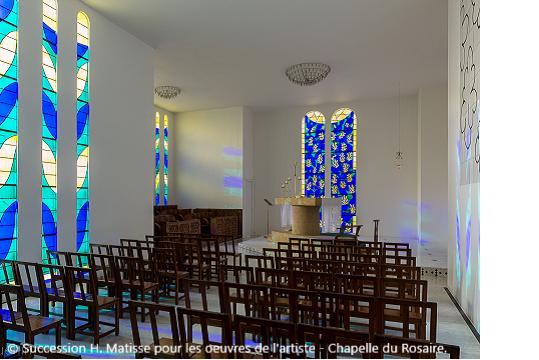Chapelle matisse ou du rosaire vence - Office des oeuvres universitaires pour le centre ...